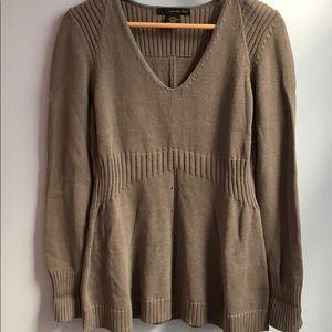 New Calvin Klein 100% Cotton V-Neck Sweater P/M
